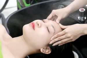 Gội đầu massage